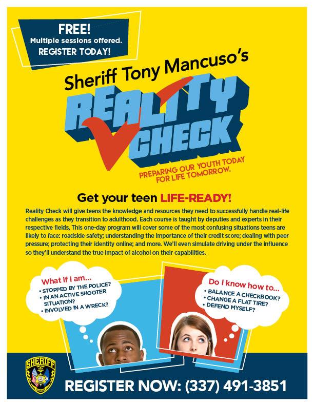 CPSO - Reality Check Flyer
