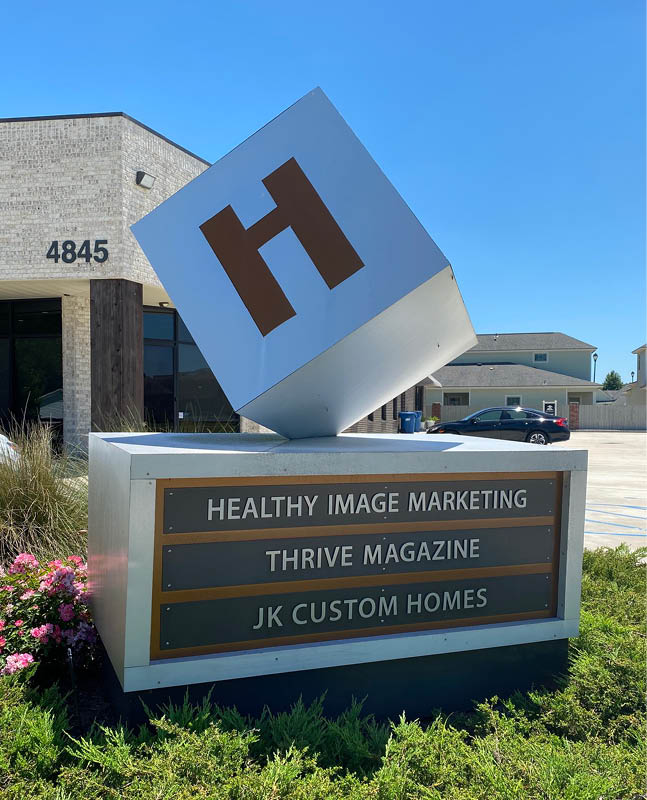 Healthy Image Sign
