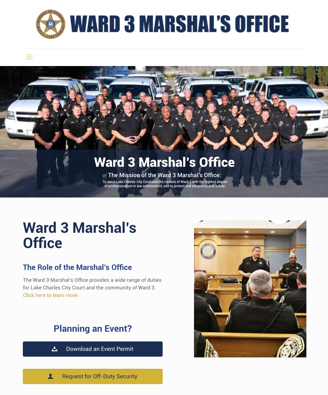 Ward 3 Marshal's Office