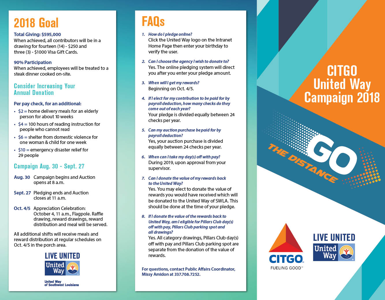 CITGO – Go the Distance – Brochure