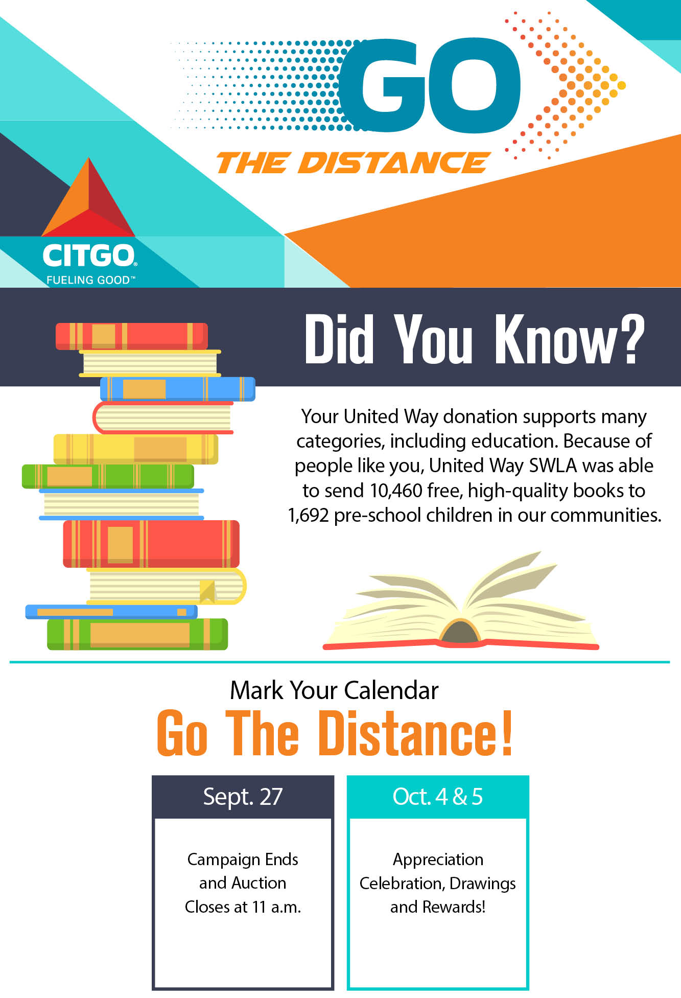 CITGO – Go the Distance – Poster2