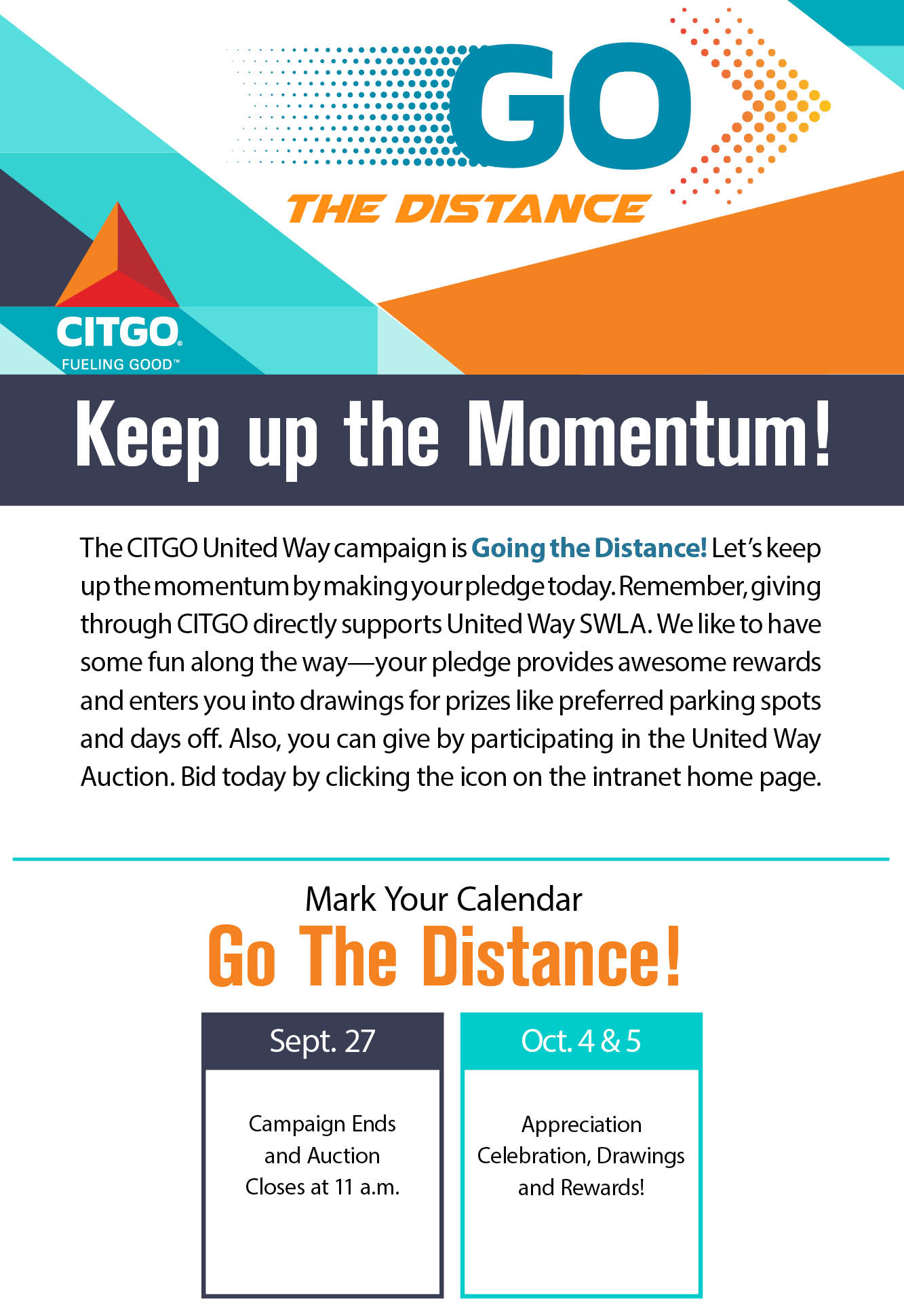 CITGO – Go the Distance – Poster4