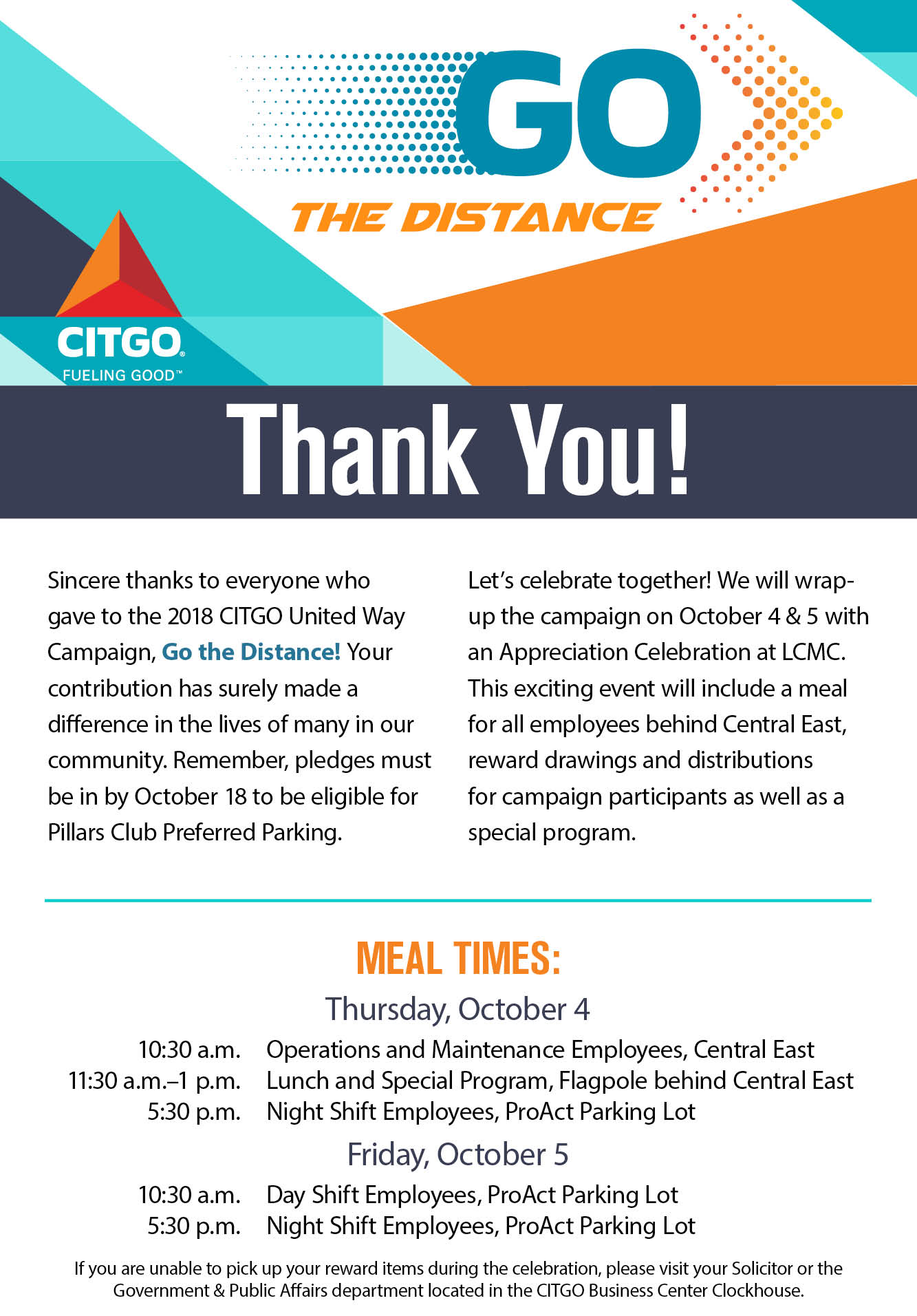CITGO – Go the Distance – Poster6