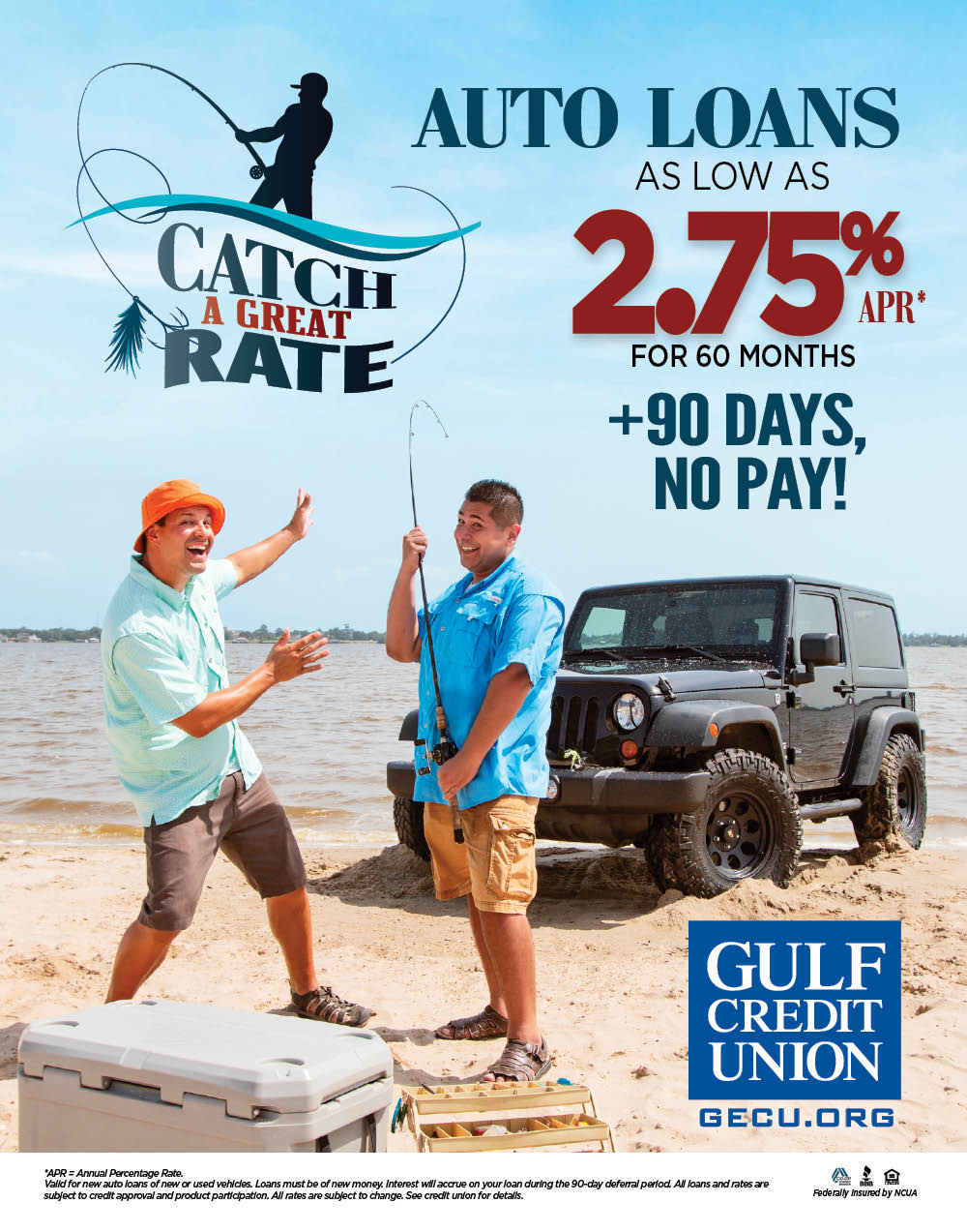 GCU – Catch a Great Rate – Poster