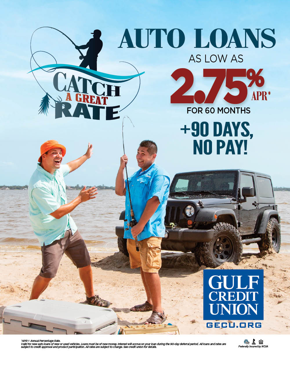 GCU – Catch a Great Rate – Print Ad