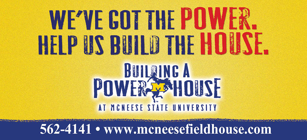 McNeese State University - PowerHouse - Billboard Design