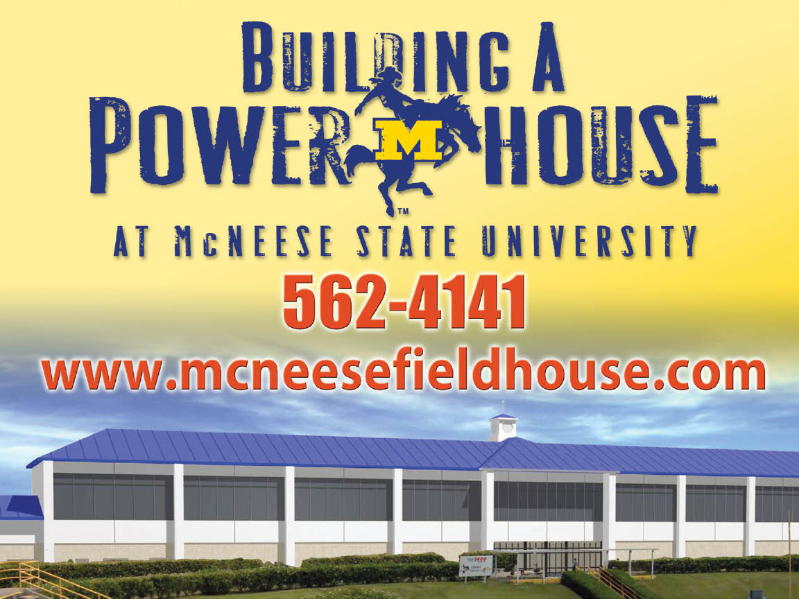McNeese State University - PowerHouse - Yard Sign Design